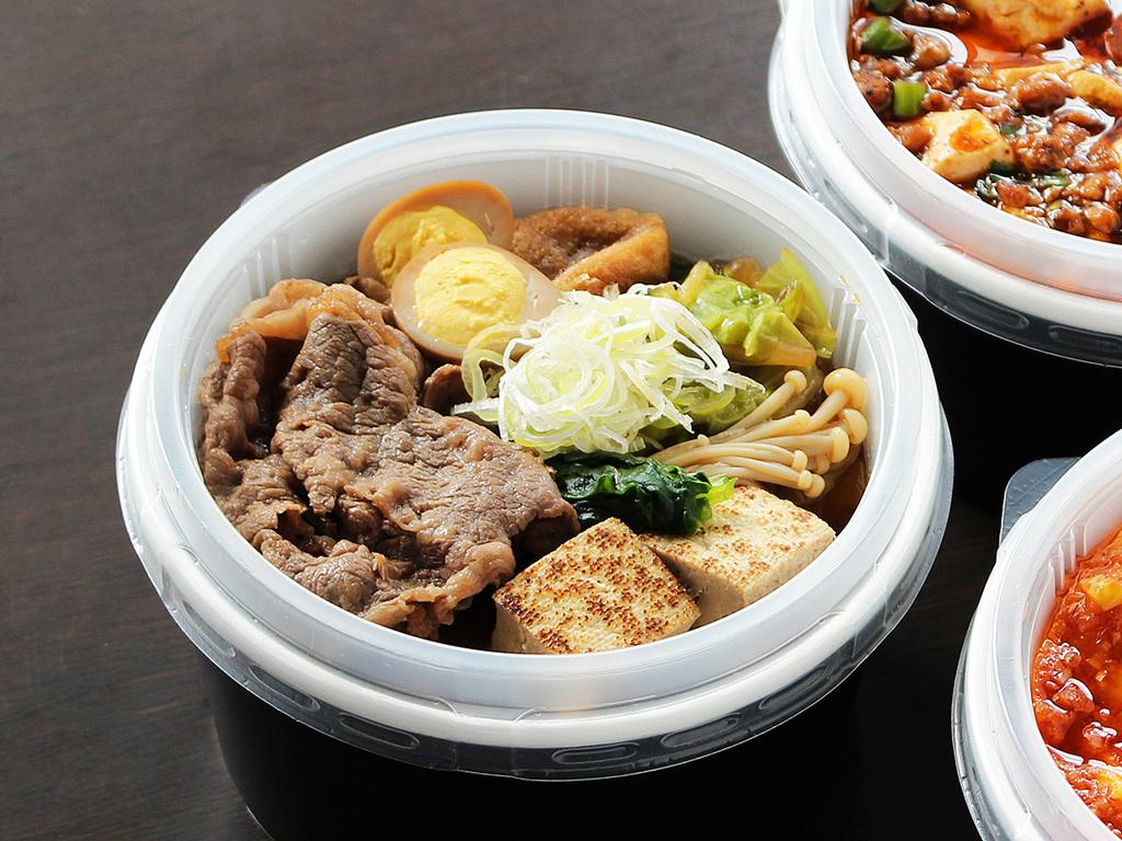 【ルームサービス】お部屋でゆったり!夕食和食弁当(すき焼き丼)プラン