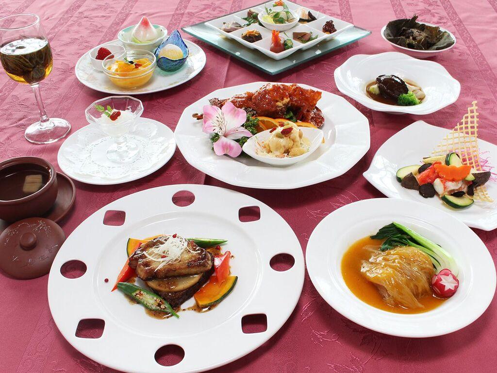 中国料理「鳳凰」で食す!中国料理『至福菜譜』イメージ