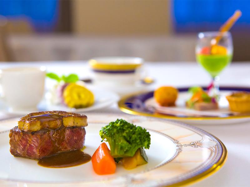 <2食付プラン>国産牛ロース肉のグリル