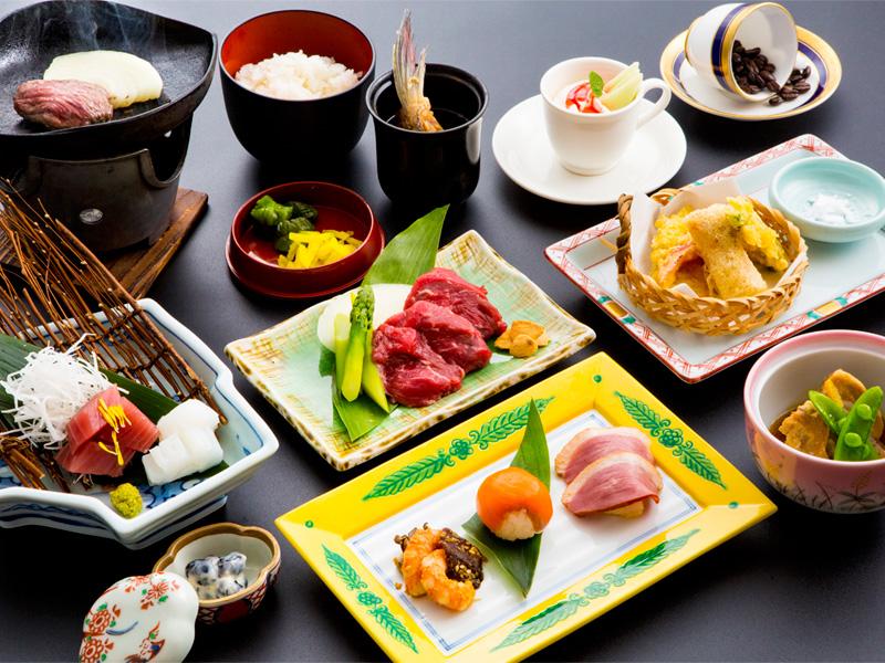 季節の旬を楽しむ♪ 和食ディナープラン