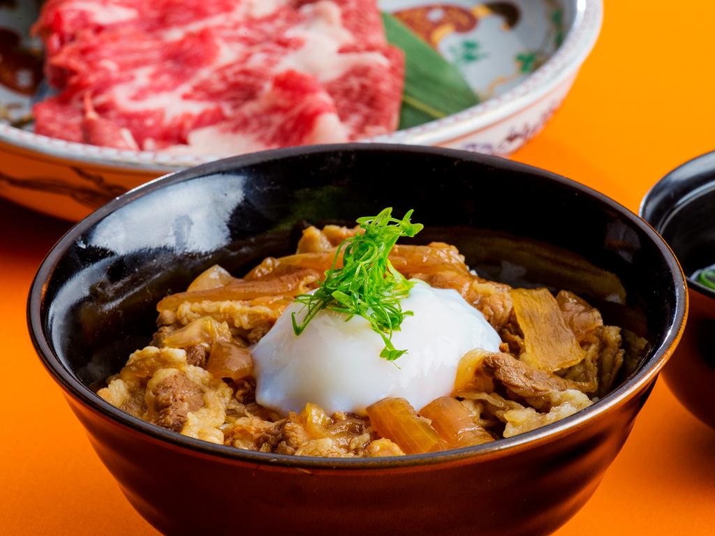 神戸牛!ボリューム満点の神戸牛丼付きプラン