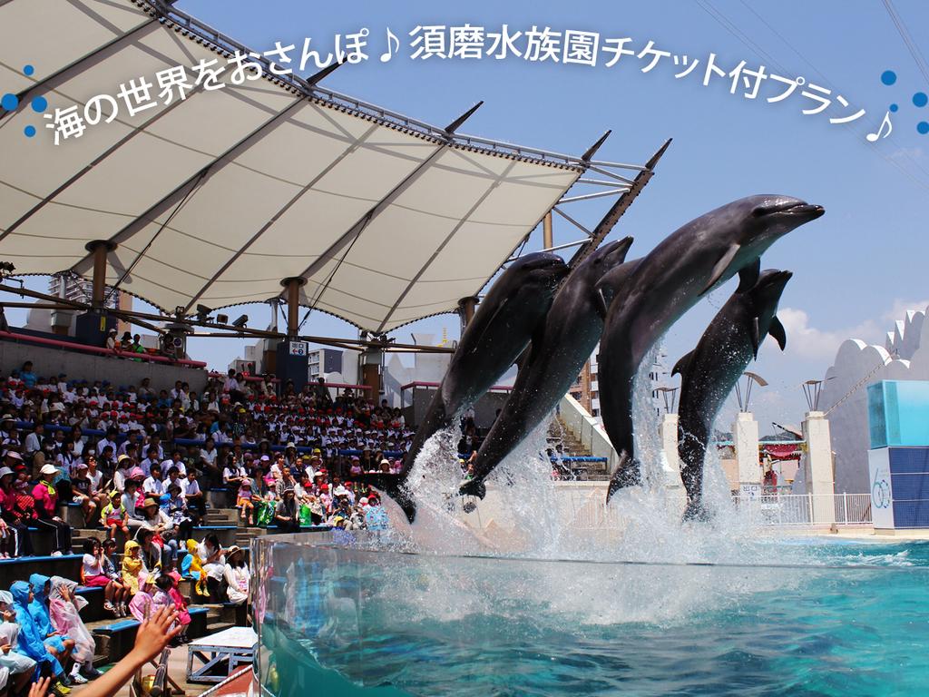 世界の海をおさんぽ♪須磨海浜水族園チケット付きプラン