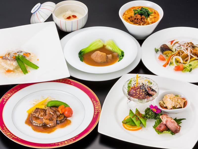 クラウンパレスの休日【2食付・中国料理コース】
