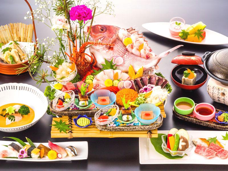 ご当地グルメステイ・日本料理ベーシックコース