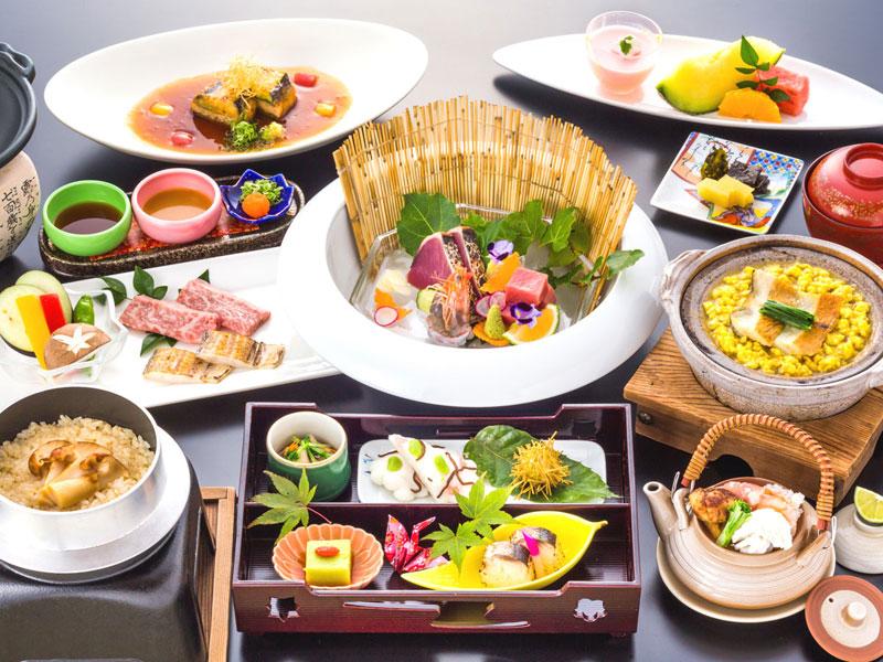 ご当地グルメステイ・日本料理グレードアップコース