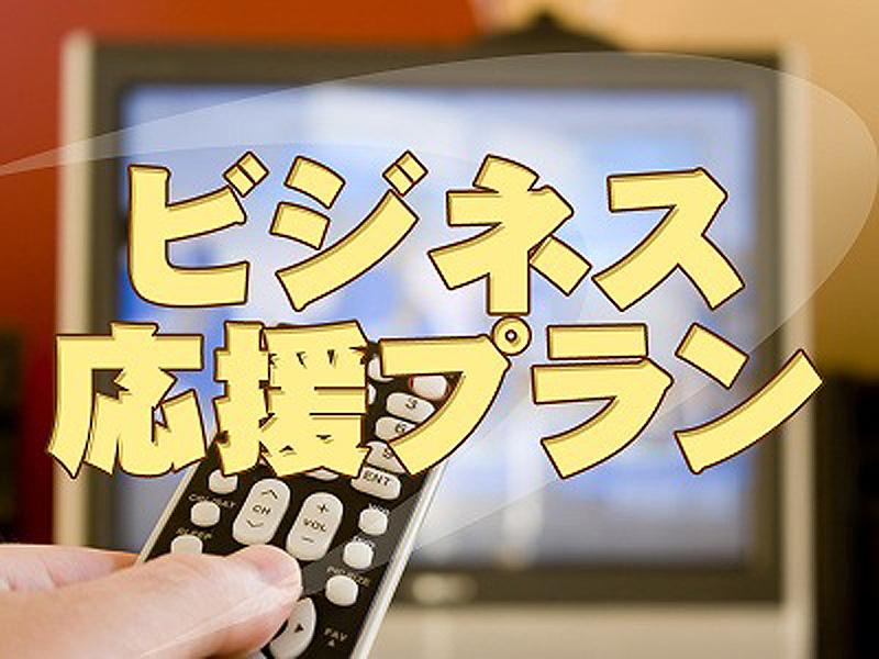有料チャンネル利用可能なビジネス応援プラン