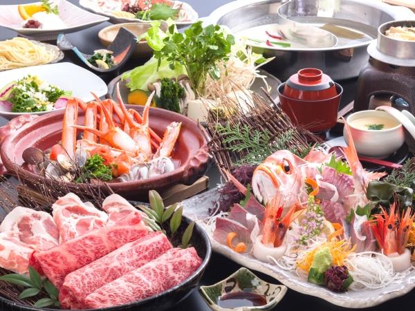 4・5・6月限定!豪華三大グルメ 食の饗宴 [一例]
