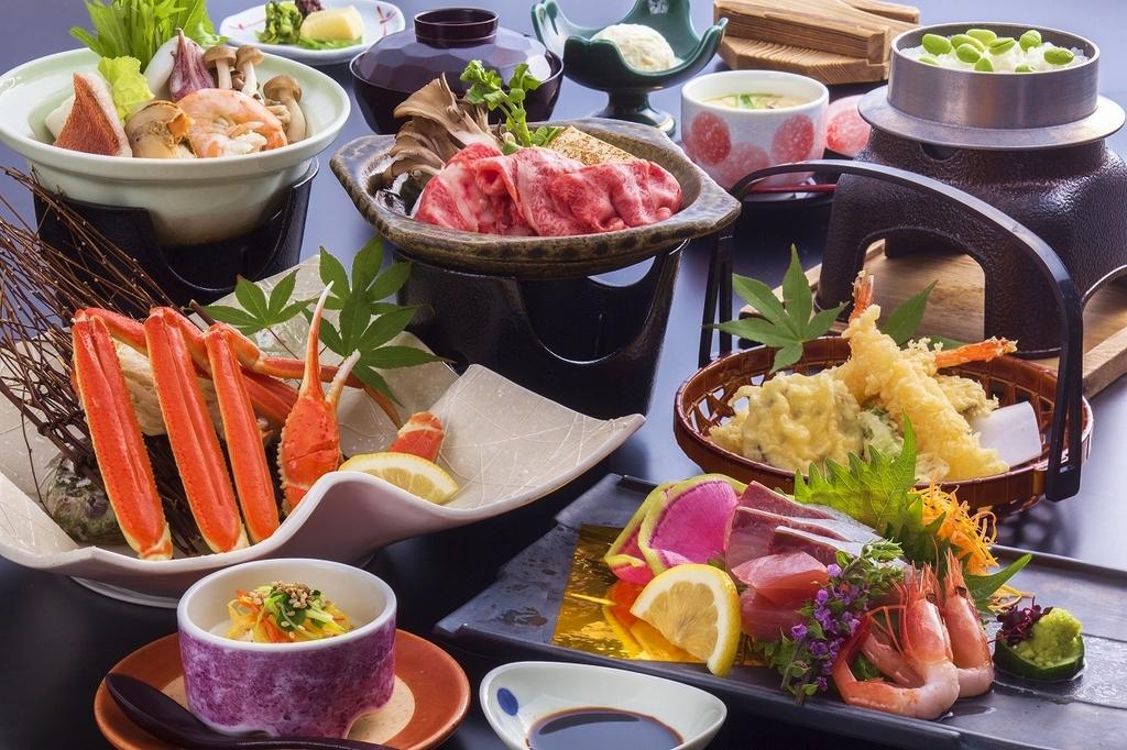 色々食べれる海鮮会席 [一例]