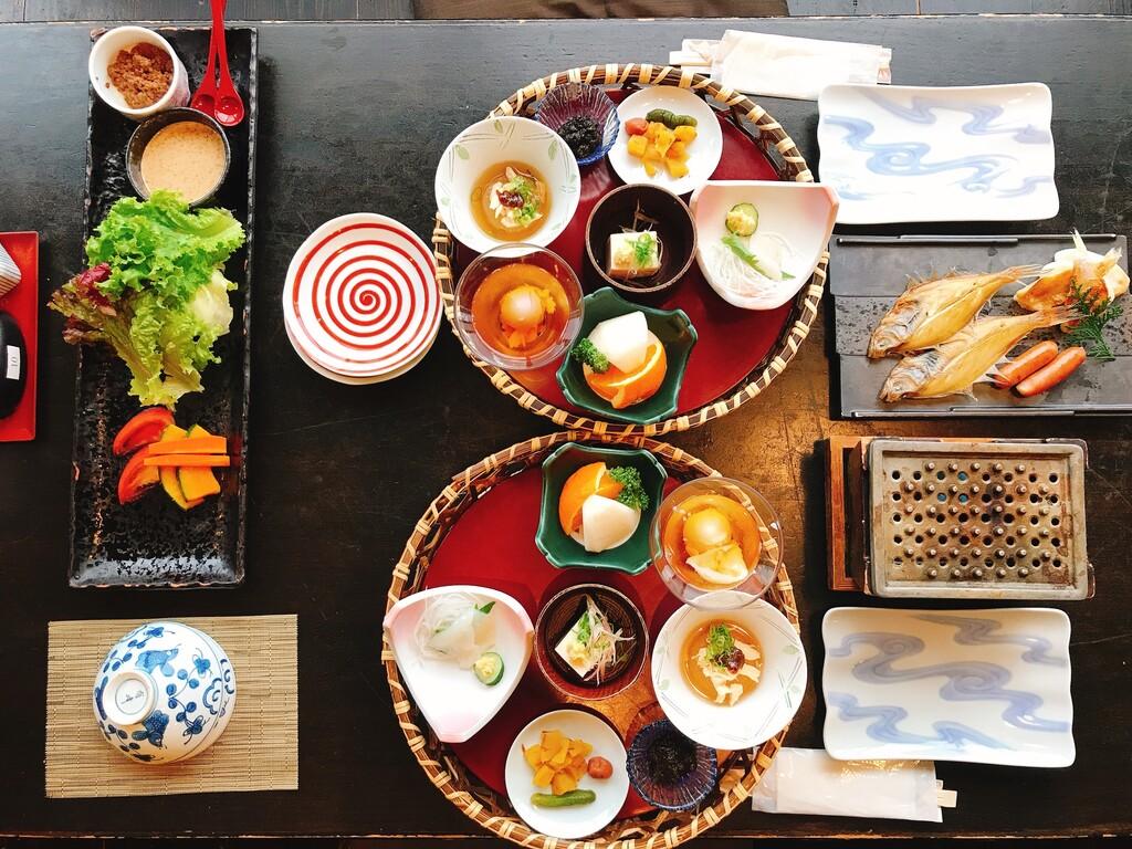 朝食は体に優しい和食膳で一日の元気をチャージして[一例]