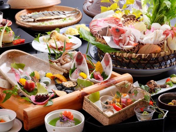秋風会席 秋の食材オンパレード 【一例】