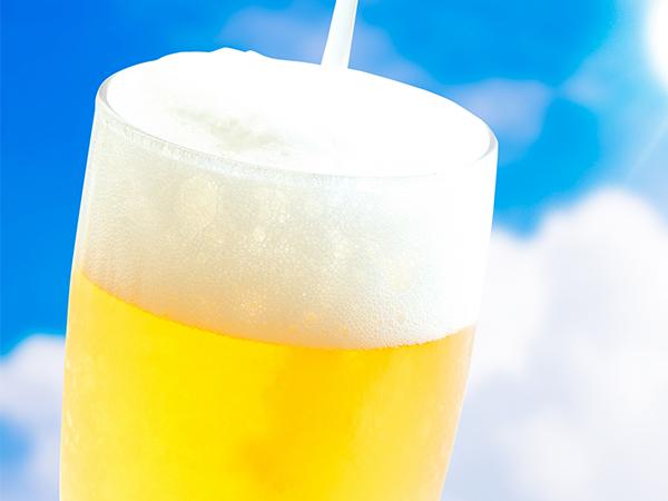 乾杯の生ビール大人の方に1杯付