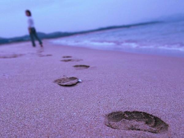 徒歩30秒の夕日ヶ浦海岸は朝のお目覚め散歩にピッタリ