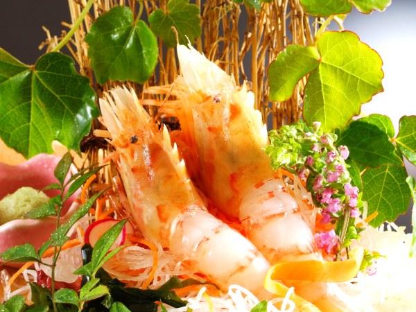 4〜6月の旬の一品は「鬼海老」調理方法は料理長おまかせ [一例]