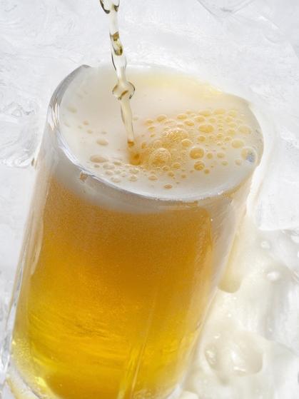 ■夏は生ビール