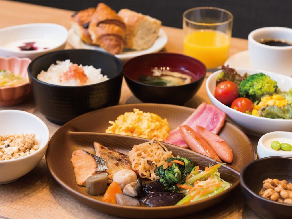 朝食ブッフェ(一例)