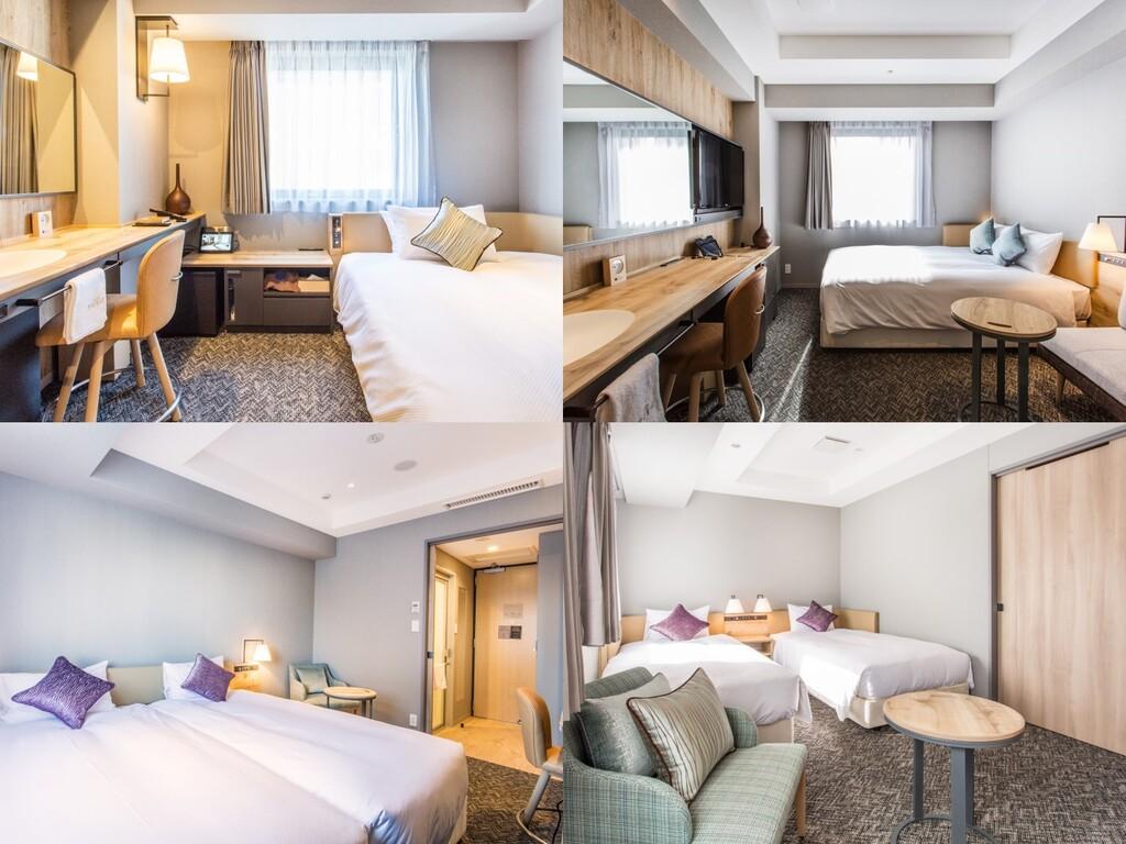 スタンダードルームを中心とした6種類の客室にご宿泊いただけるシンプルステイプラン。