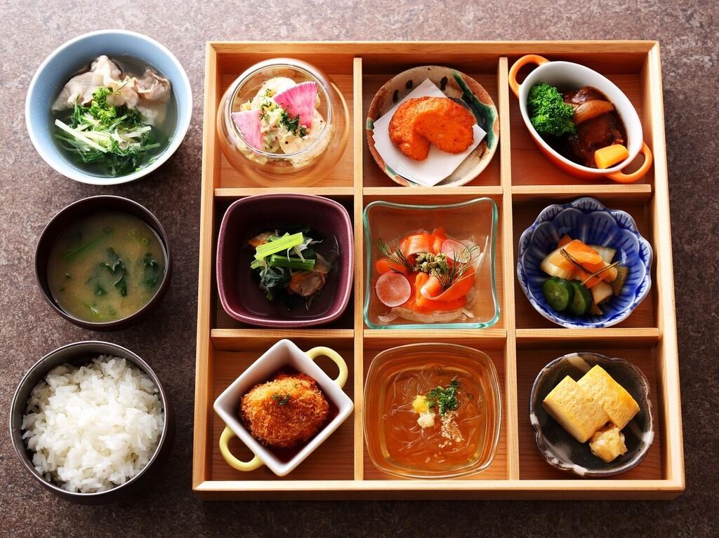 「江戸東京をまるごと楽しめる」をコンセプトにした朝食メニュー。