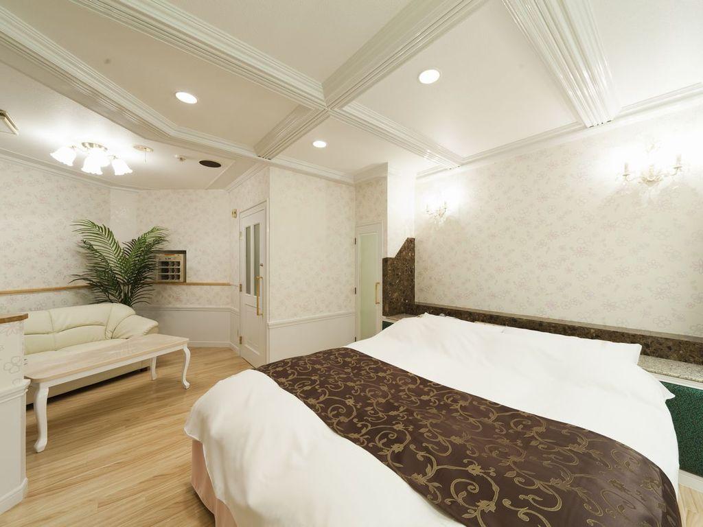 ゆったりベッドで快眠 をお約束♪スタンダ ー ドクイーンルーム ♪