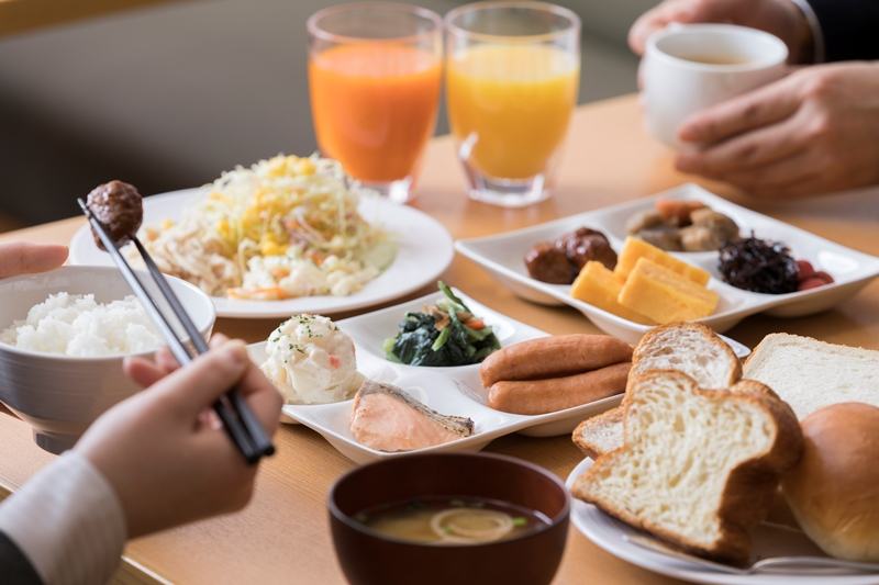 カンタン朝食(日替わりメニュー)