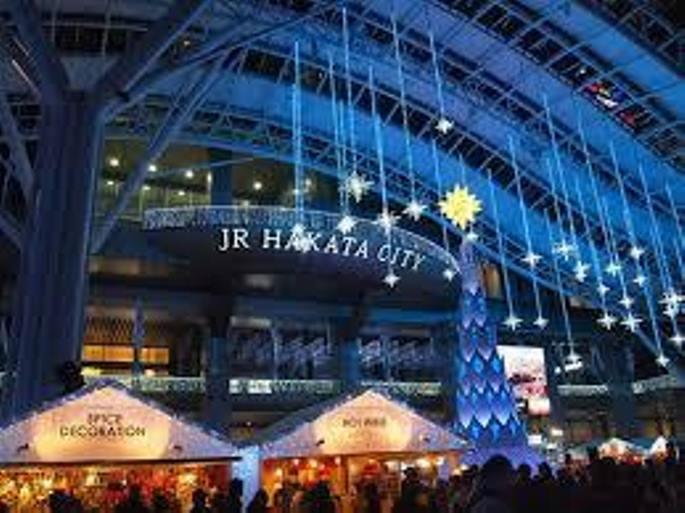 クリスマスマーケット博多会場