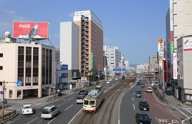 ホテル外観【西側】