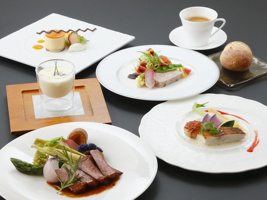 夕食イメージ 洋食コース料理