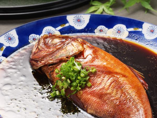一の湯名物!金目鯛の姿煮