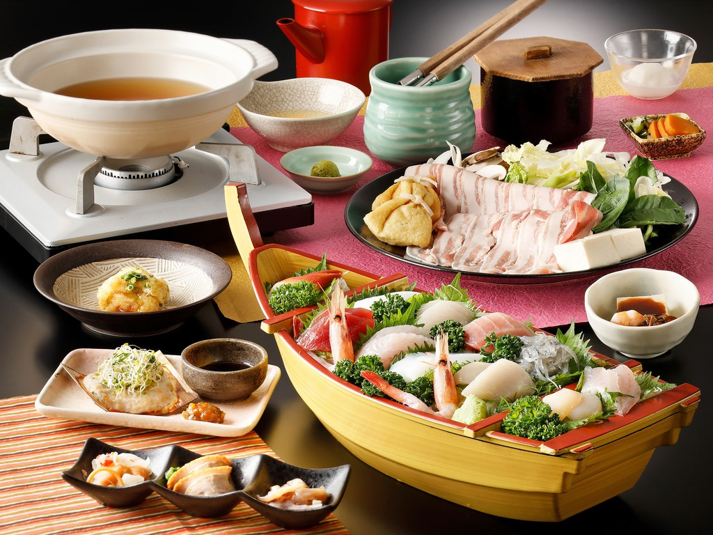 Gourmet plan(Sashimi boat)