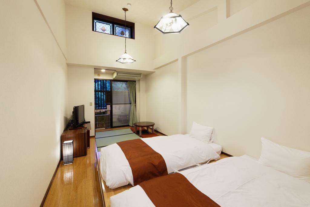 露天風呂付ツイン和室(一例)