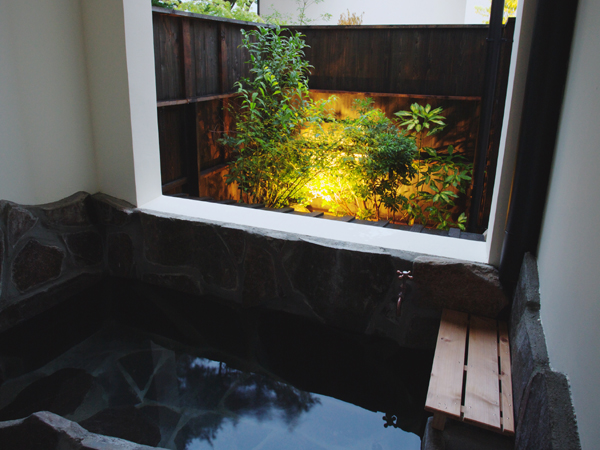 【別邸】客室露天風呂例