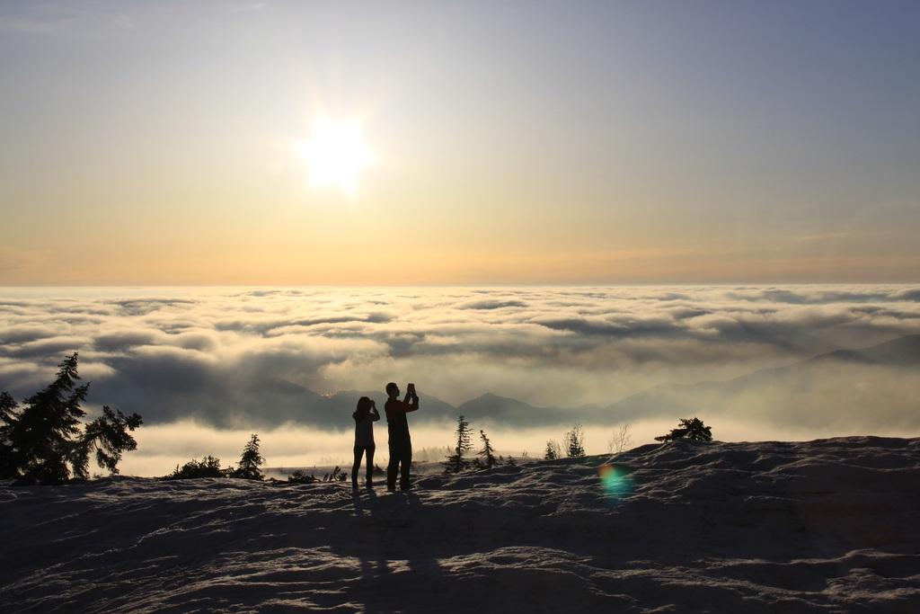 弥陀ケ原の雲海