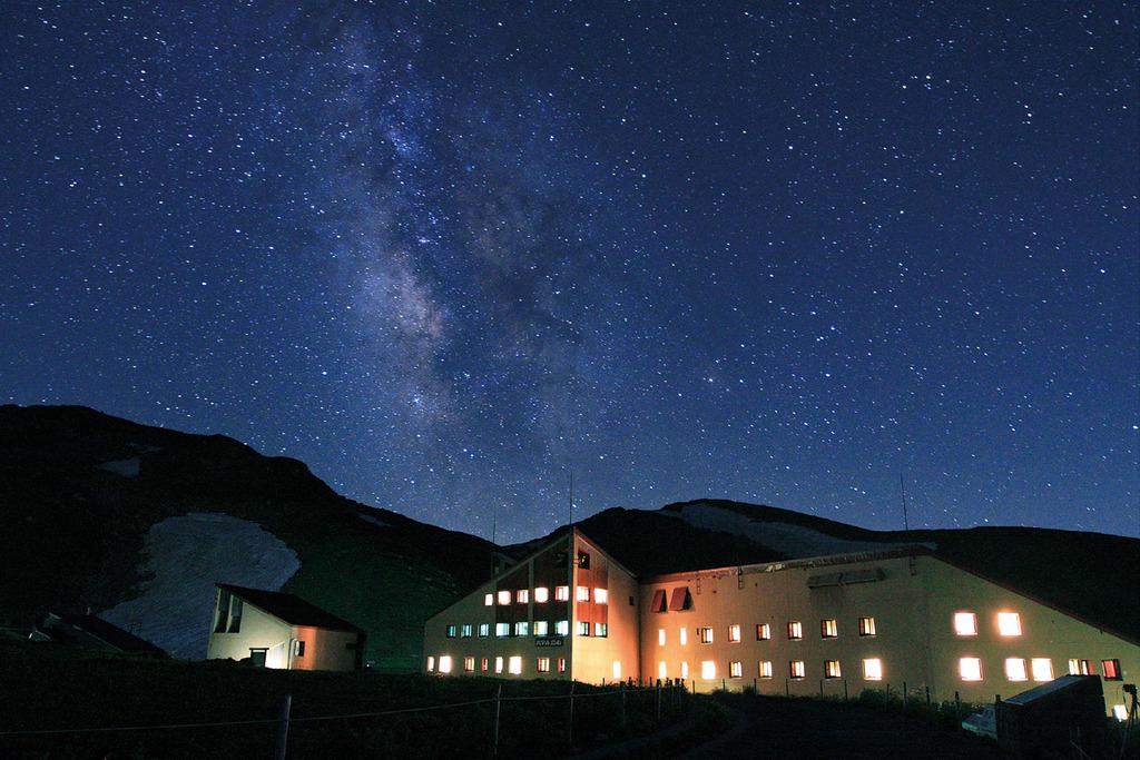 ホテル周辺から望む星空(イメージ)