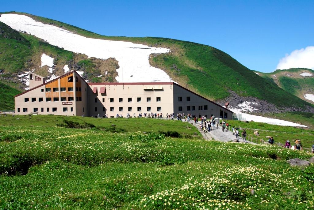 ホテル立山(夏)
