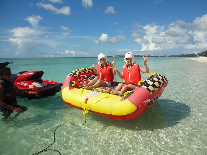 離島なのに車で行ける瀬底島♪「Uボート」体験イメージ