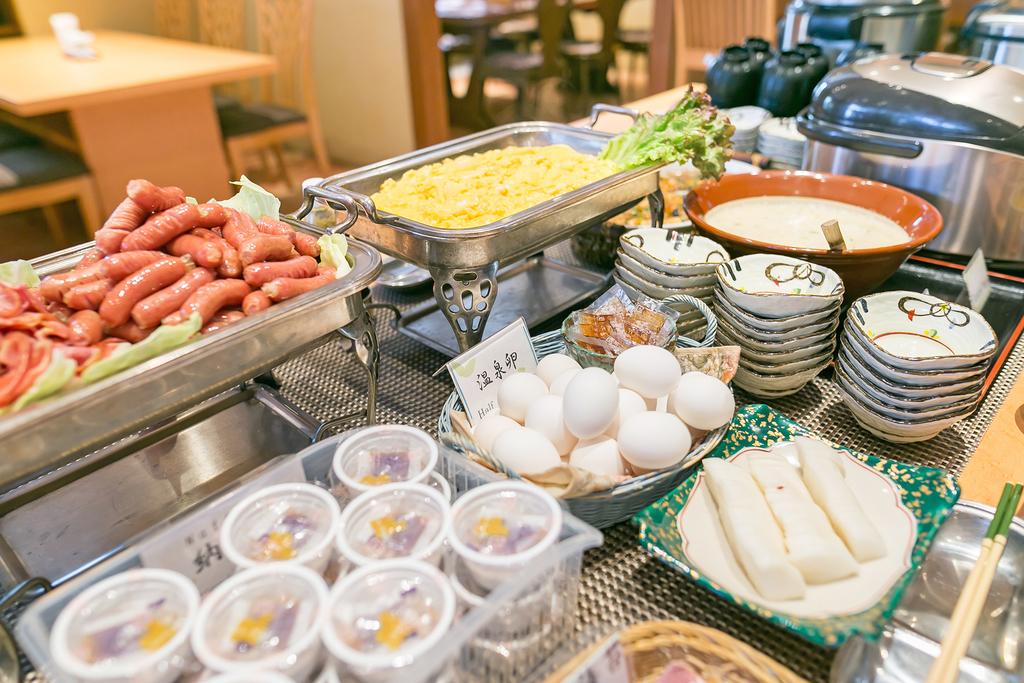 和洋朝食ブッフェ メニュー一例