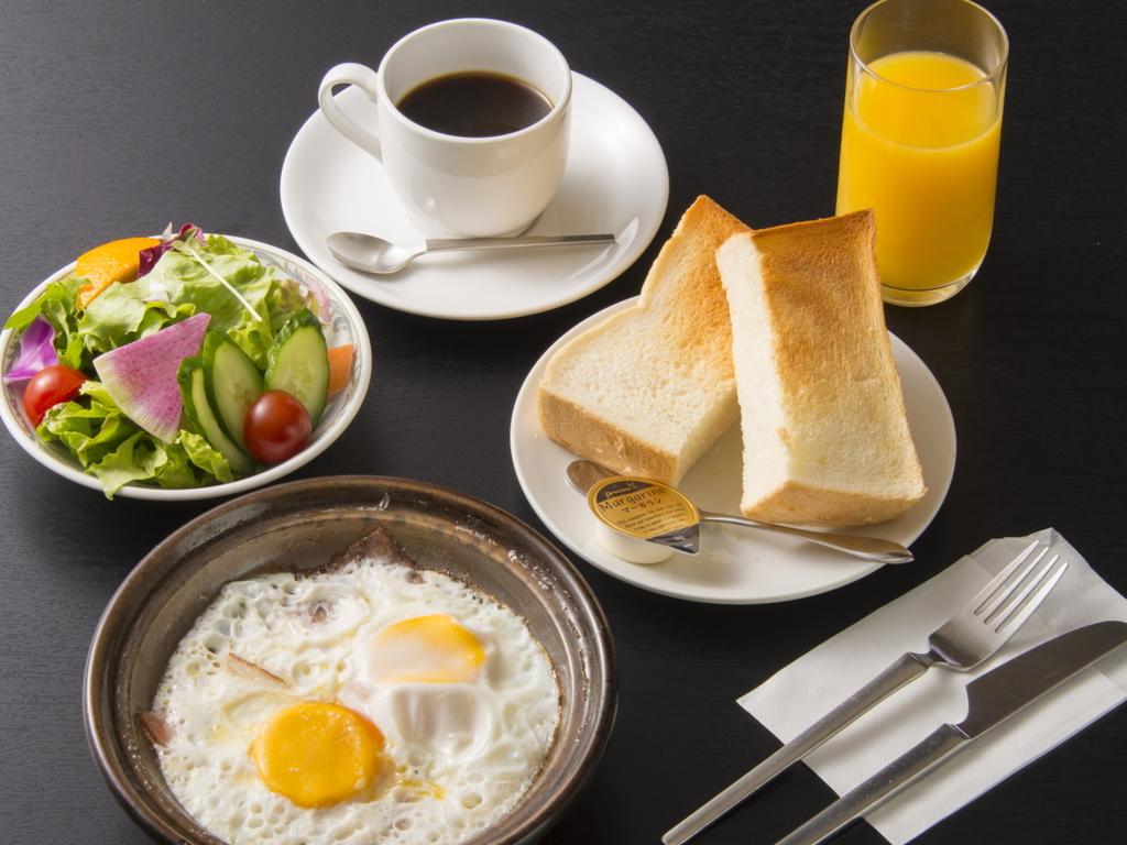 ホテル朝食(洋食)