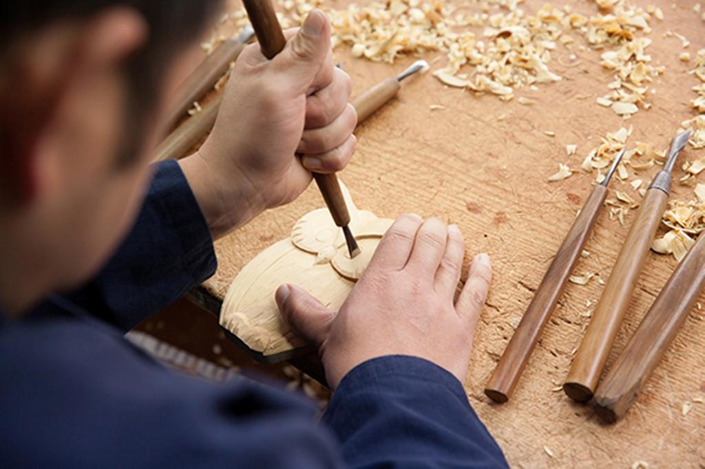 体験プラン 木彫刻体験コース 2,700円
