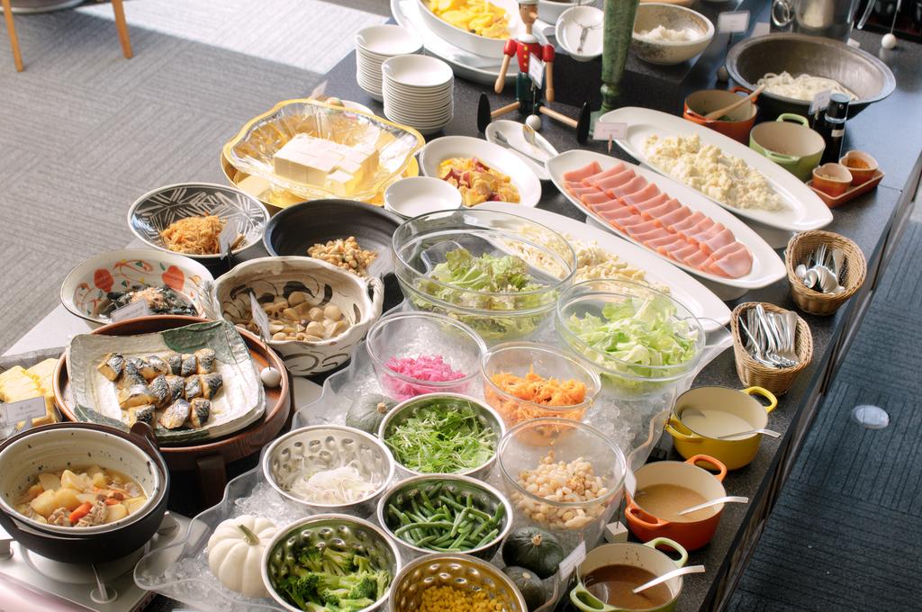 50品目の和洋朝食バイキング