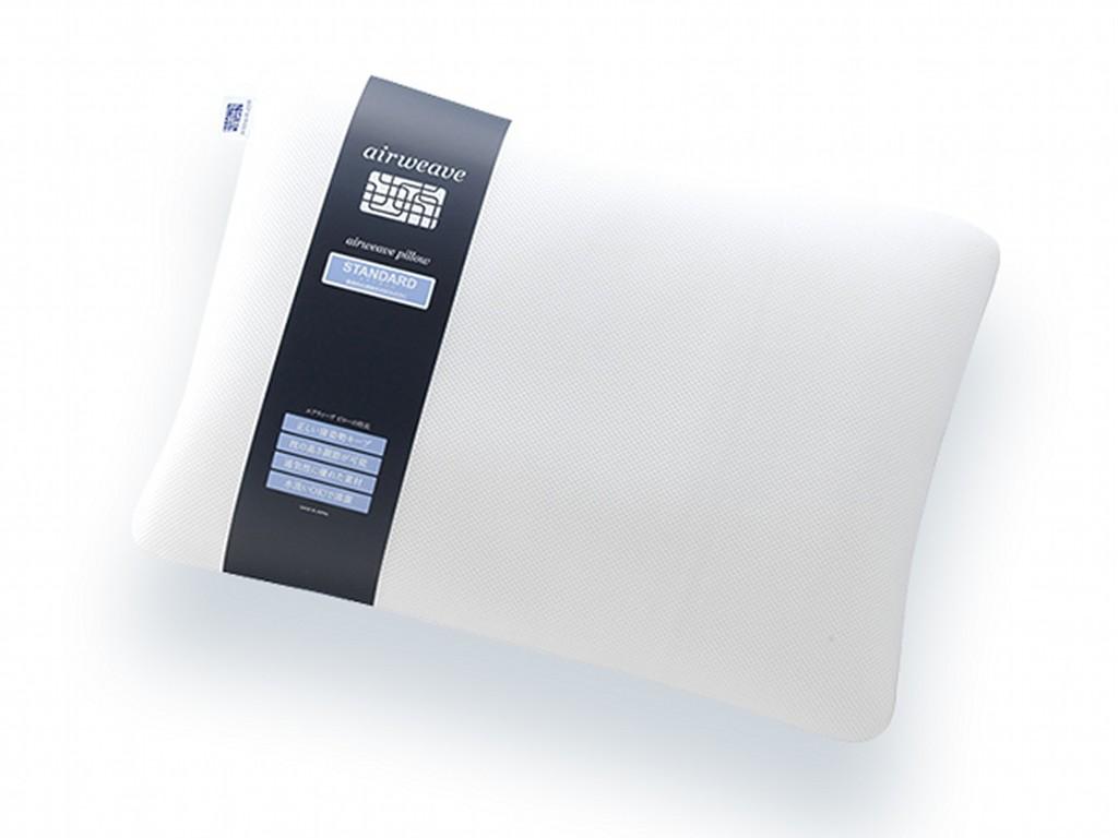 優れた復元性と通気性で蒸れにくい<br>高反発のエアウィーヴ枕