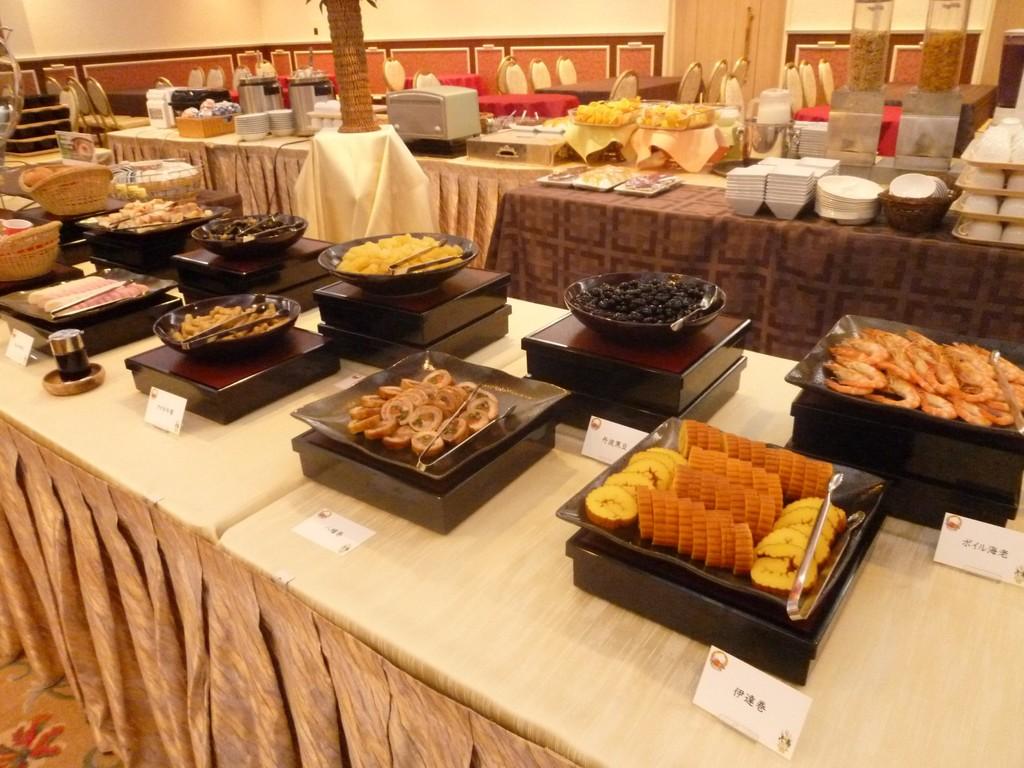 1月1〜3日限定!<br>おせちメニューも楽しめる朝食♪