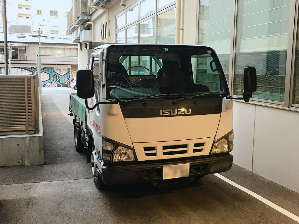トラック・マイクロバスをホテル敷地内に駐車可能<br>もう駐車場所を探す必要はありません!