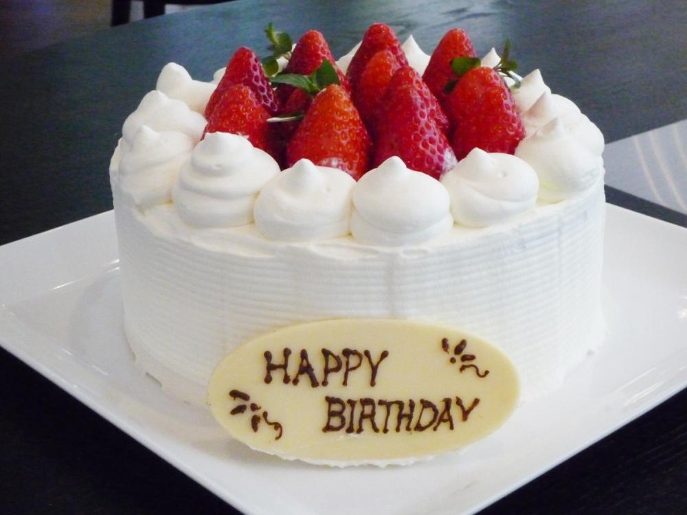 バースデーケーキ(イメージ) 4号サイズ(直径約12センチ)