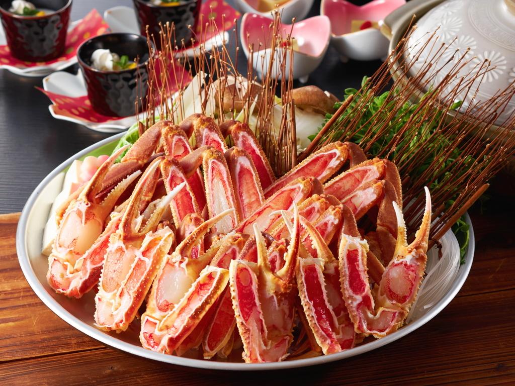 城崎の冬はやっぱり「蟹」♪