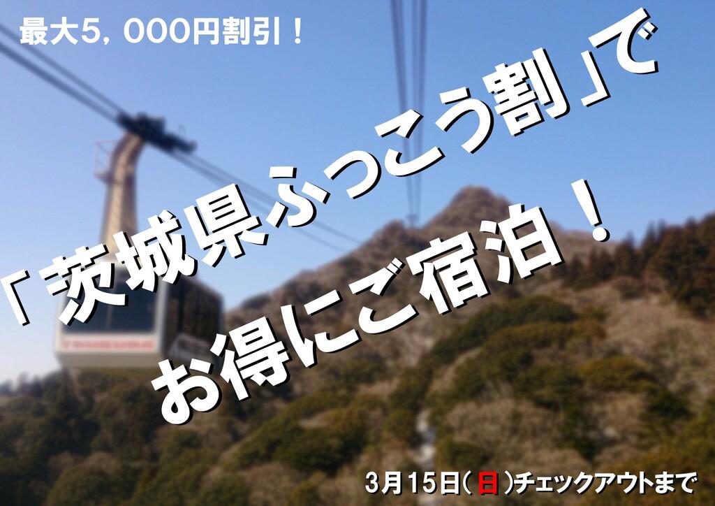 茨城県ふっこう割