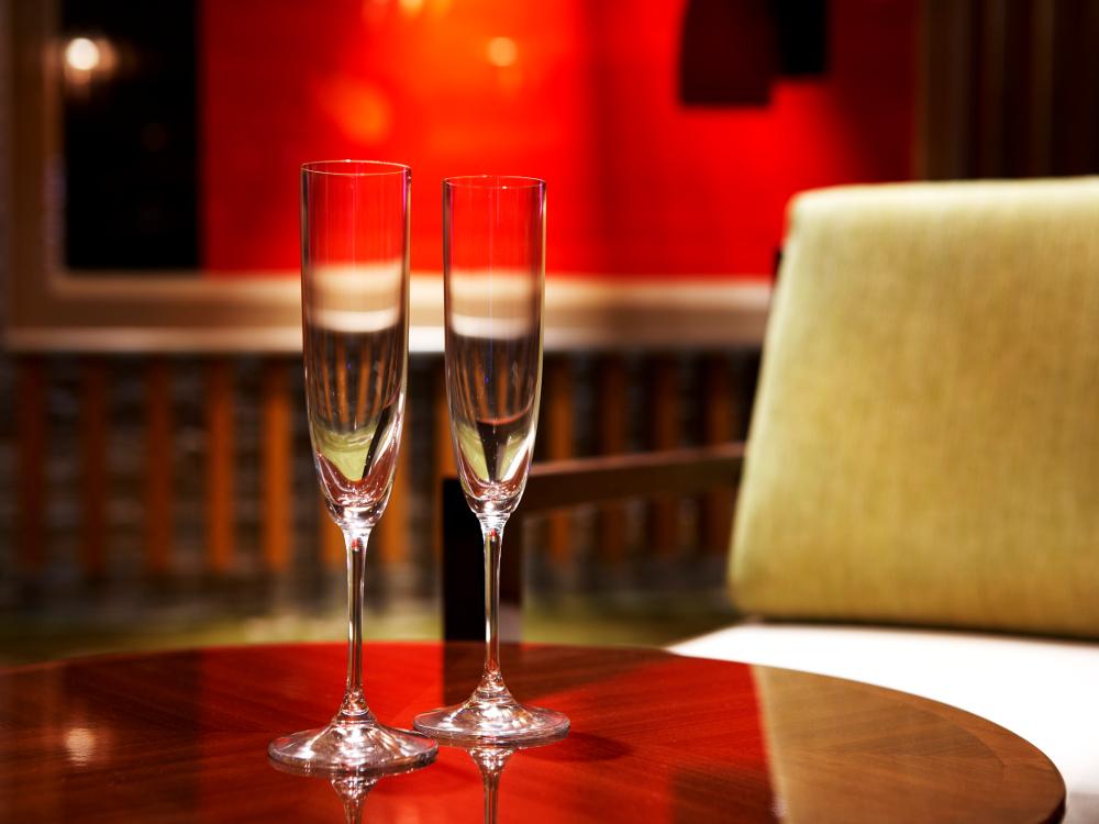 スパークリングワインに合う、シェフ特製イタリアンコースをご用意