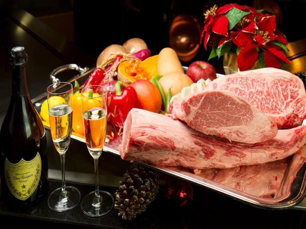 鉄板焼 クリスマス限定ディナー