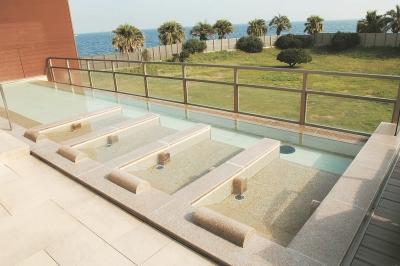 温浴施設「SPASSO」露天風呂