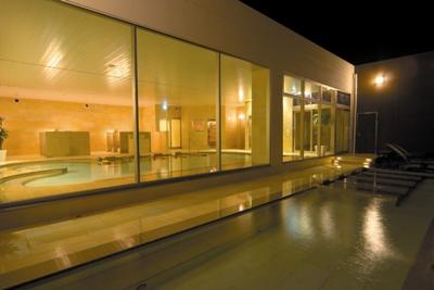 温浴施設SPASSO夜露天風呂