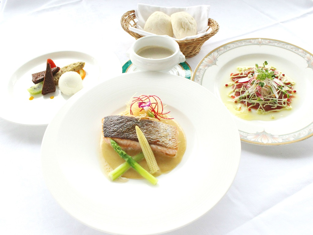 夕食 洋食Aコース(イメージ)