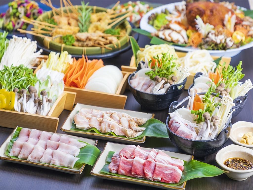 【夕食一例】ディナービュッフェ